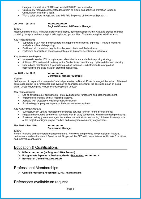 Perfect Cv 8 Examples Of The Perfect Cv
