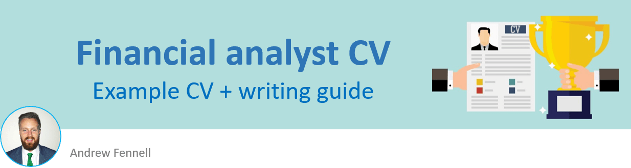 Financial analyst CV example