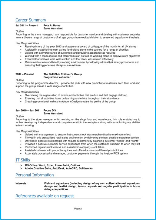 Google Docs CV template [With 8 CV examples for inspiration]