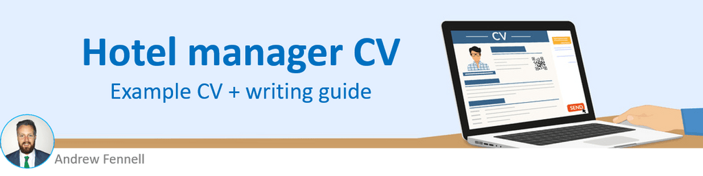 Hotel manager CV example
