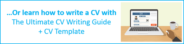 Learn how to write a CV