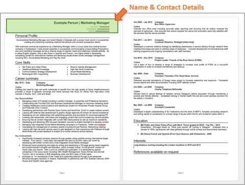 Teaching Assistant Cv Example With Writing Guide And Cv