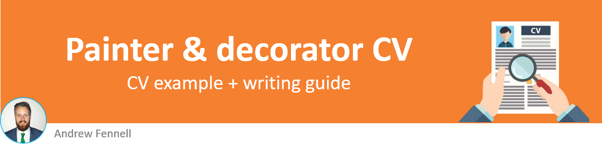 Painter and decorator CV example