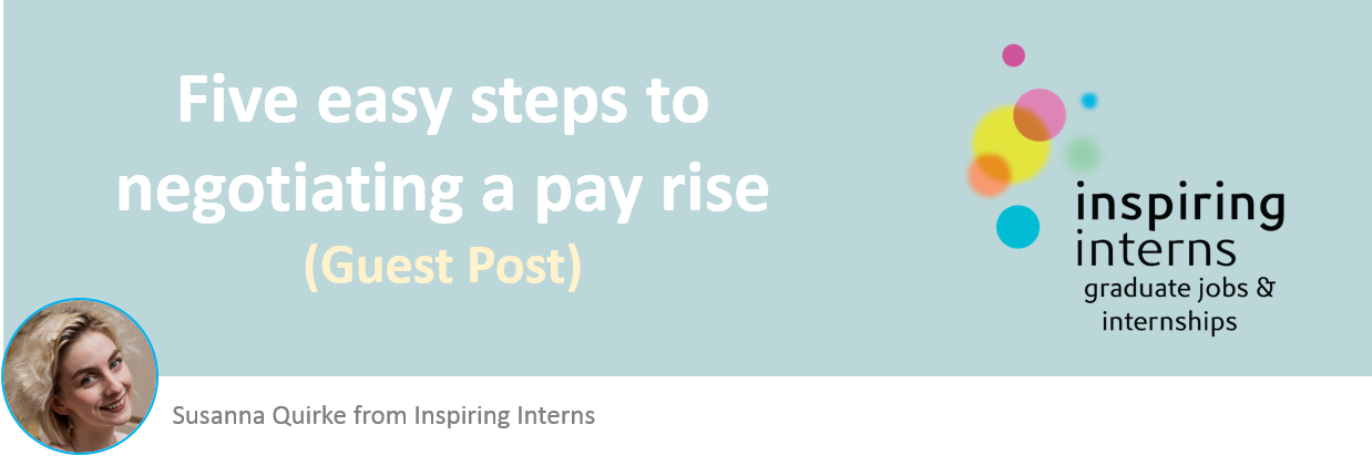 Negotiating a pay rise