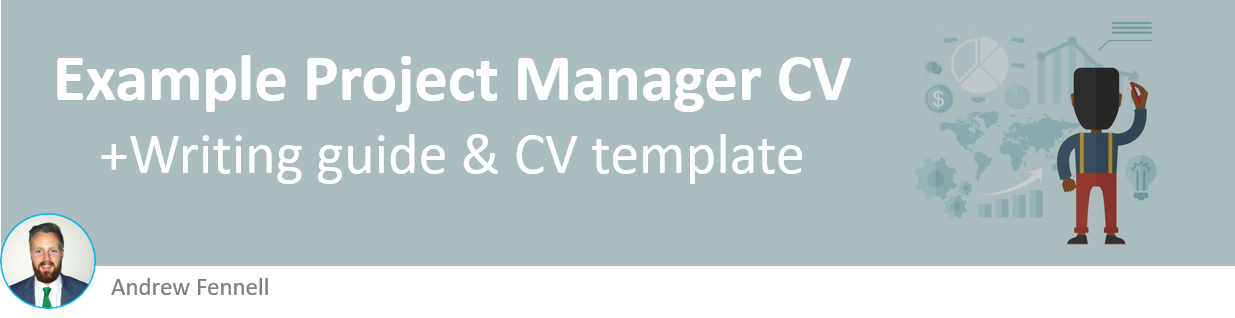Project Manager CV Example With Writing Guide And Template