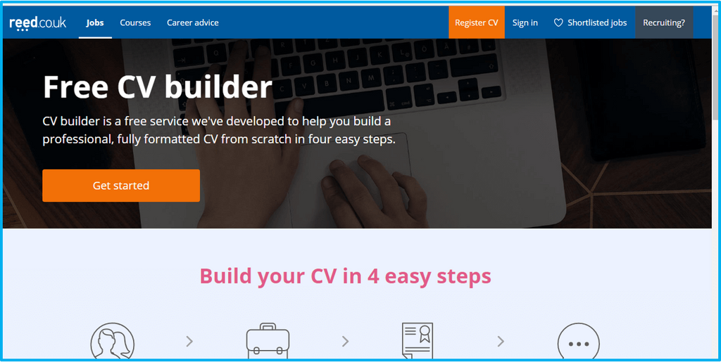 professional cv builder