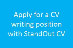 Apply for CV writing jobs