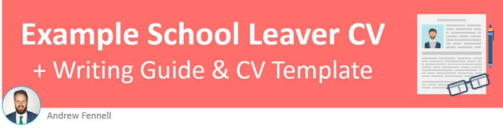 School Leaver CV Example Create A Winning CV With No Experience - Sample resume for high school leavers