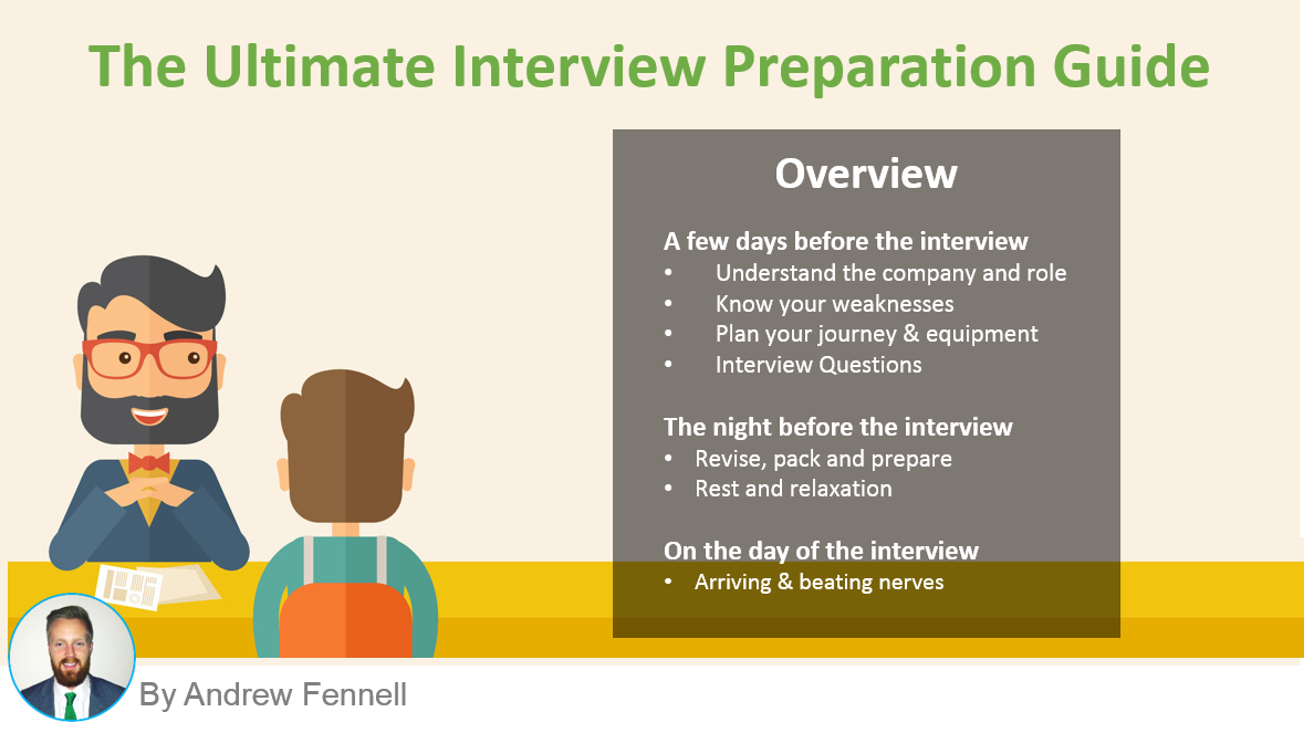 interview preparation guide best job interview tips hudson