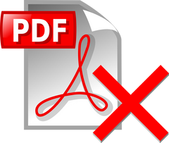 Do not send CV in PDF