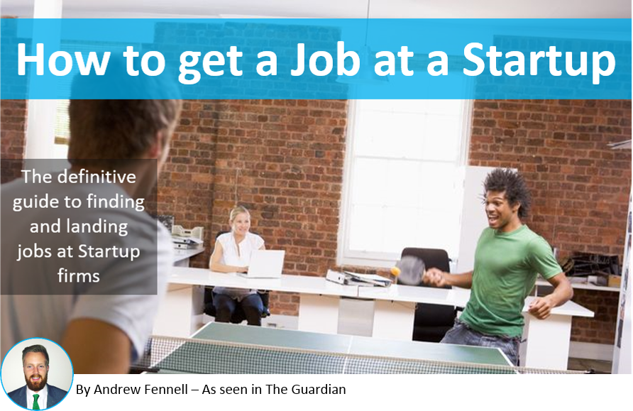 How to get a job at a startup - the definitive guide