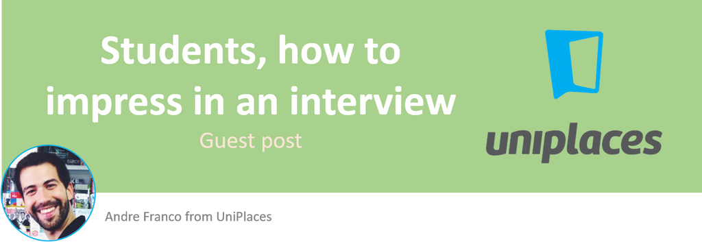 Student interview post