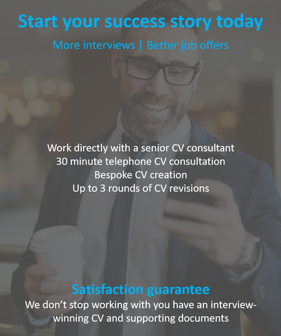 Executive CV writing package