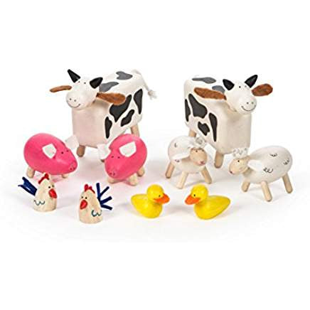 Wooden Farm Animals