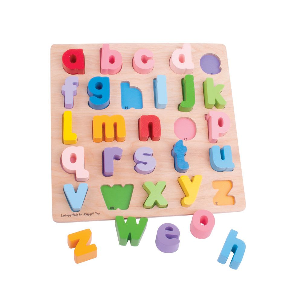 Chunky ABC Puzzle (lowercase)