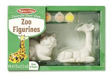Decorate Your Own - Zoo Figurines