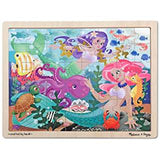 Wooden Jigsaw 24 Piece Tray Puzzle 2 Designs