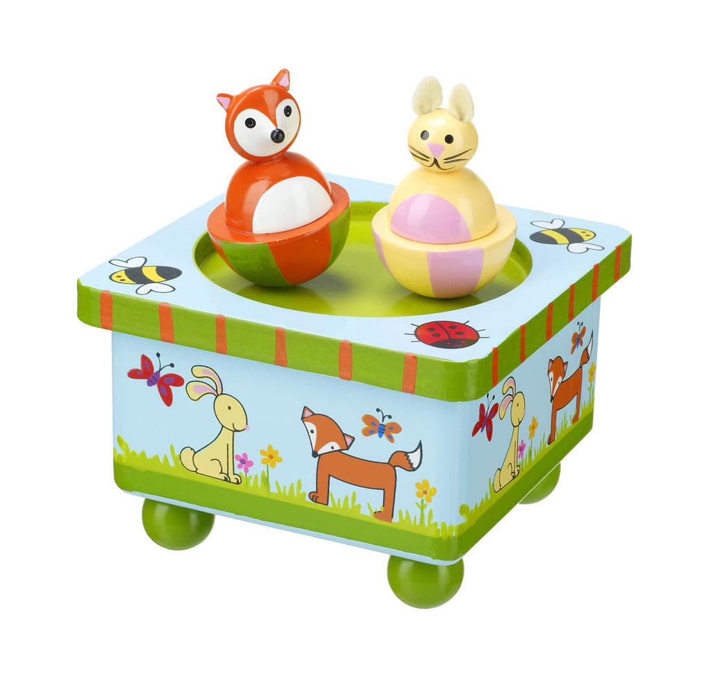 Woodland Friends Music Box
