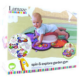 Lamaze Tummy Time Spin and Explore Garden Gym