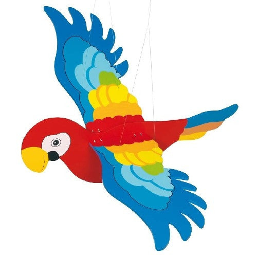 Swinging Parrot Mobile