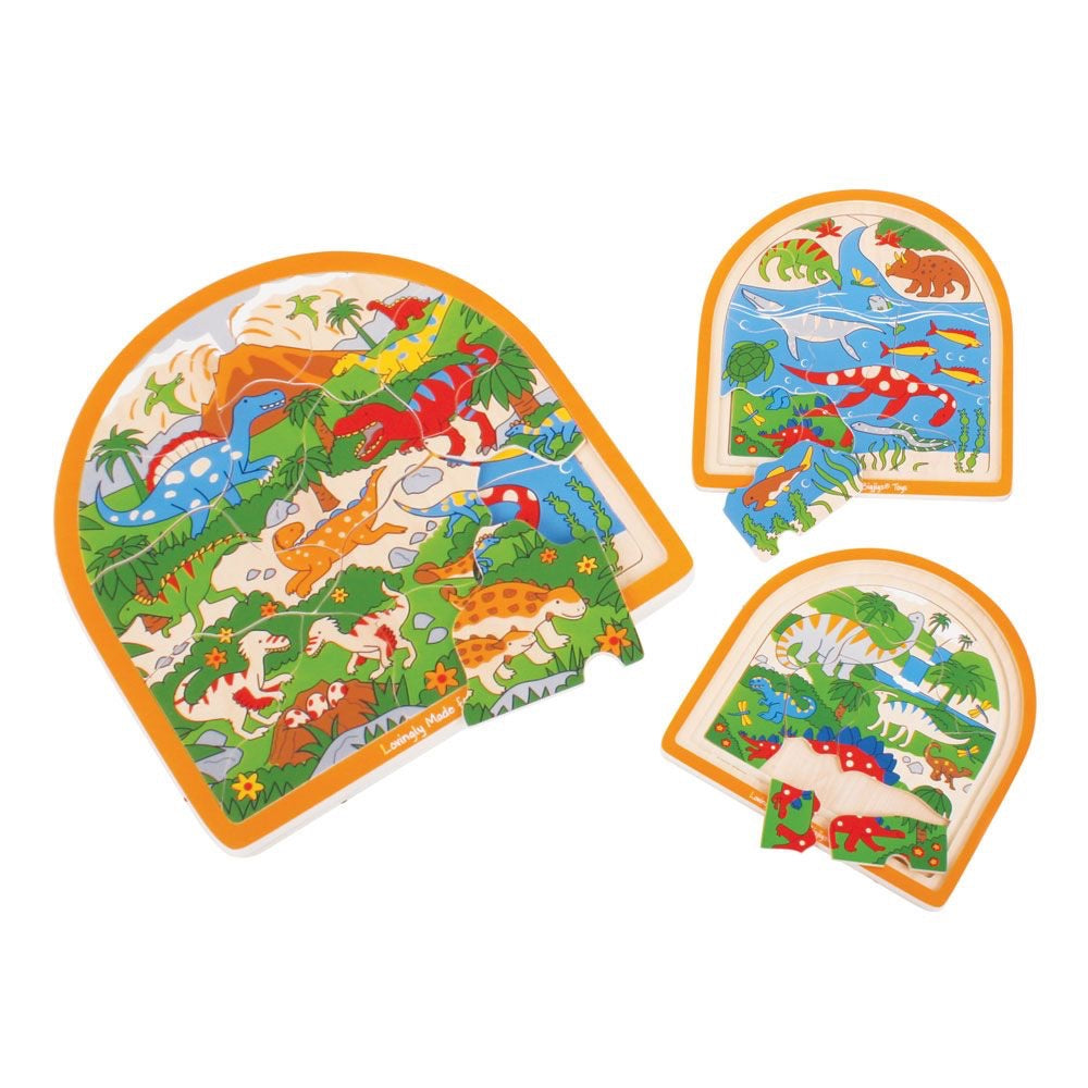 Dinosaur Layered Arched Puzzle