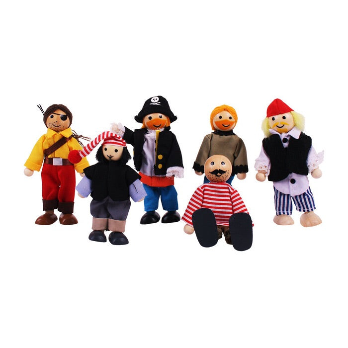 Pirates Doll Set