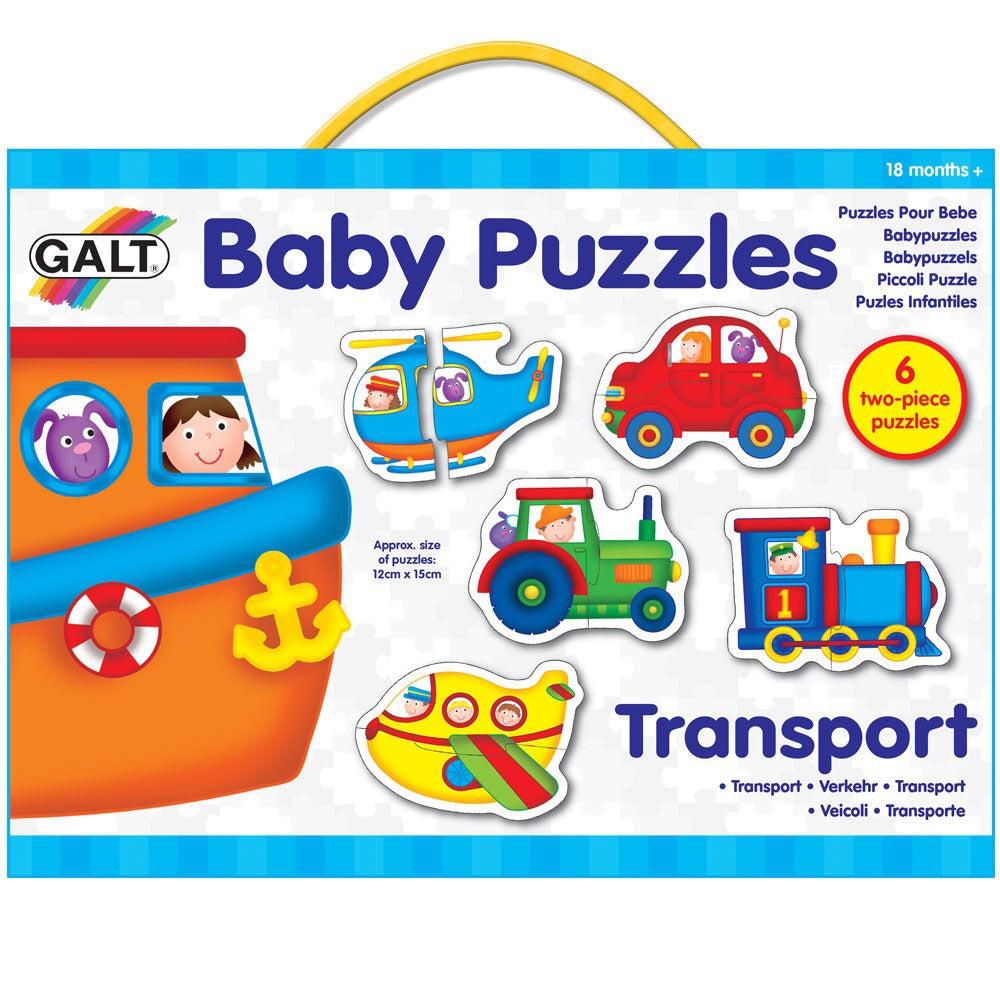 Transport Baby Puzzle
