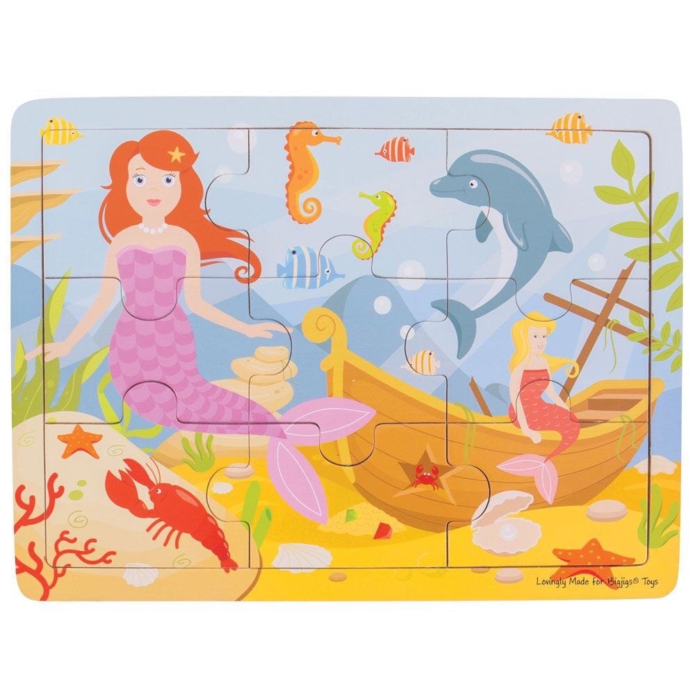 Mermaid Tray Puzzle