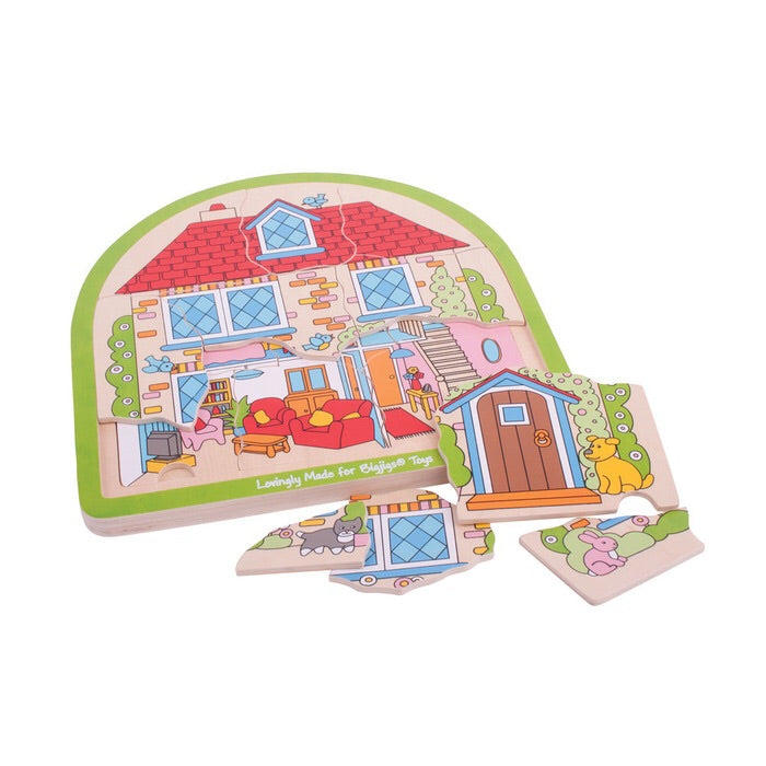 House Layered Arched Puzzle