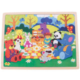 Picnic in the Park Tray Puzzle