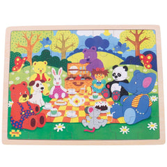 35 Piece Picnic in the Park Tray Puzzle
