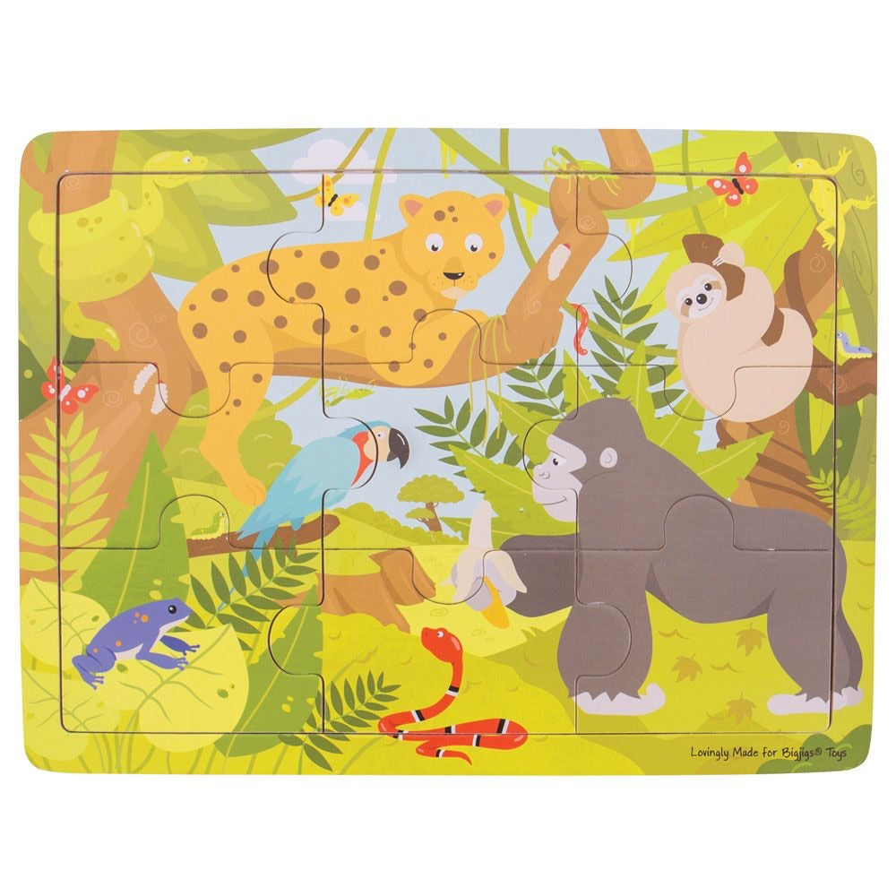 Jungle Tray Puzzle