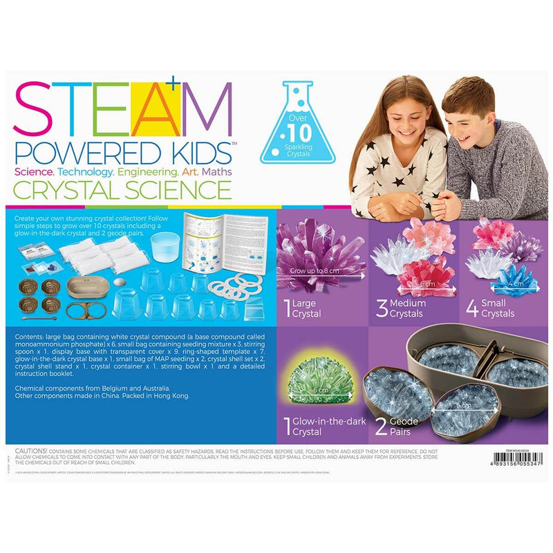4M STEAM Deluxe / Crystal Science