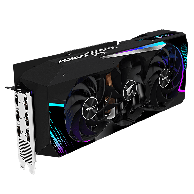 Gigabyte AORUS GeForce RTX 3080 MASTER 10G Graphic Card