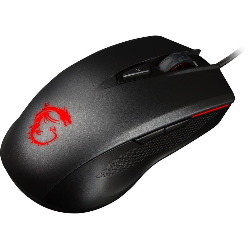 MSI Clutch GM40 mouse USB Type-A Optical 5000 DPI Ambidextrous