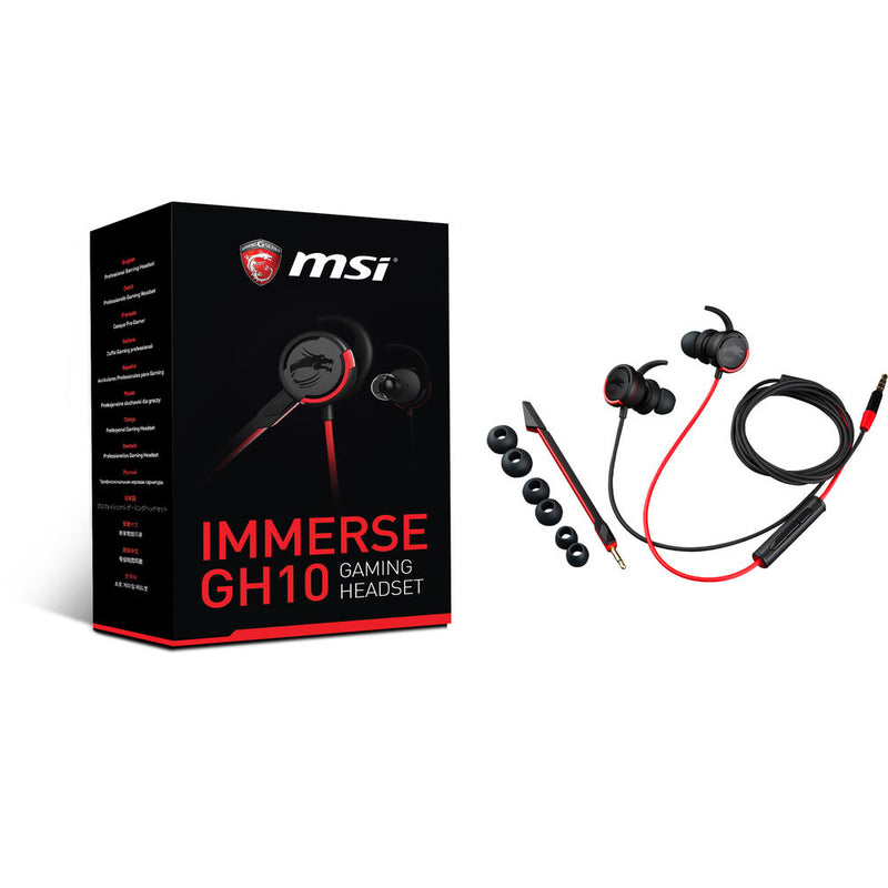 MSI IMMERSE GH10 Gaming Headset