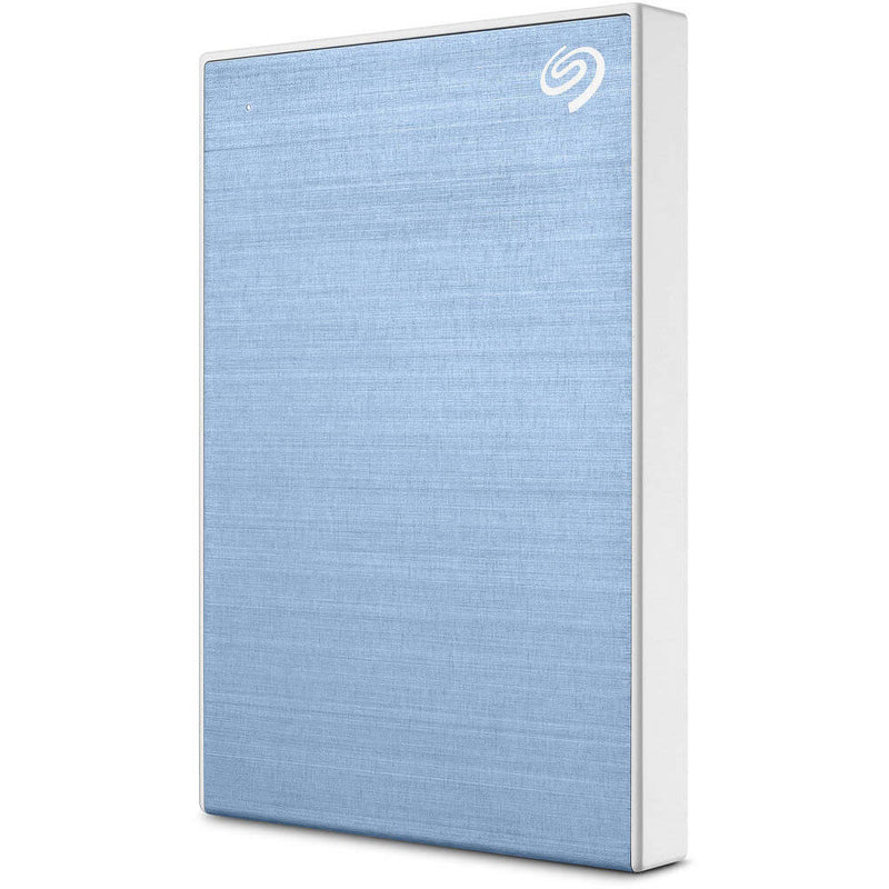 Seagate 1TB Backup Plus Slim USB 3.0 External Hard Drive (Light Blue)