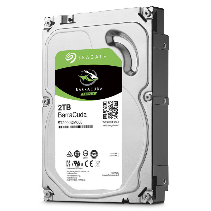 "Seagate BarraCuda 7200 rpm 3.5"" Internal HDD - 2TB"
