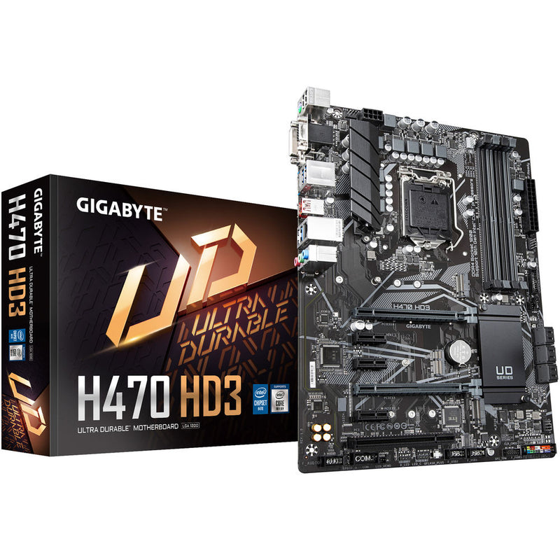 Gigabyte H470 HD3 Ultra Durable Motherboard