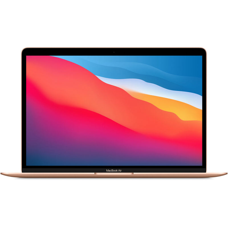 "Apple 13.3"" MacBook Air - M1 8-Core, 8GB RAM, 256GB SSD (Gold)"