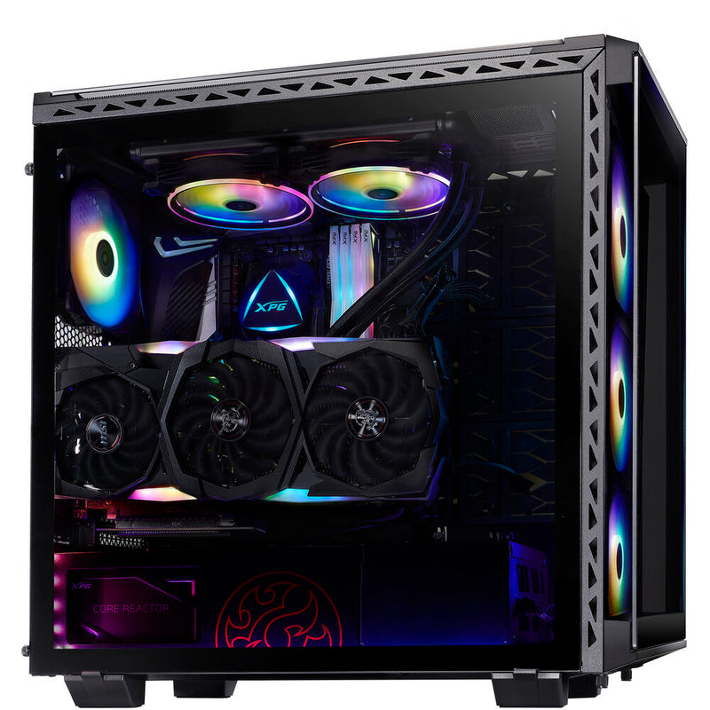 XPG BATTLECRUISE ATX Mid-Tower RGB Case (Black)