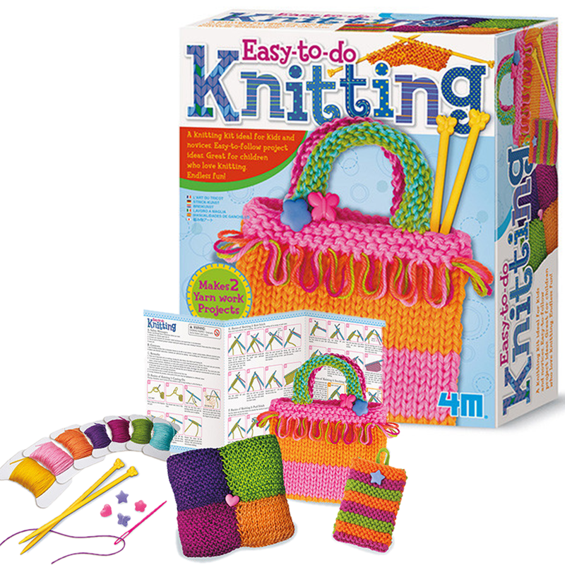 4M Easy-To-Do Knitting