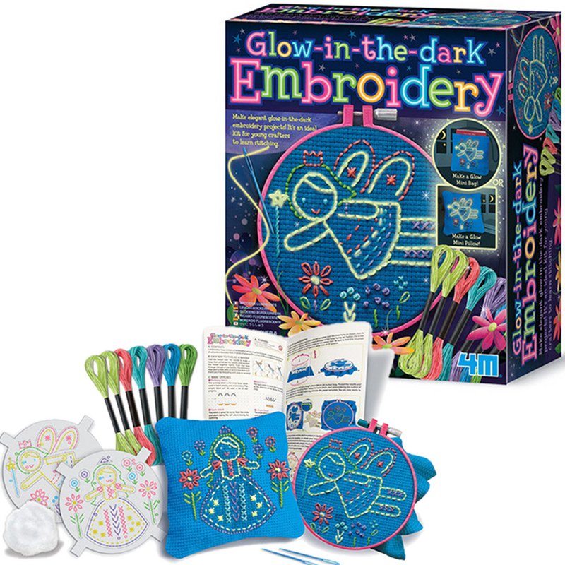 4M Glow-in-the-dark Embroidery