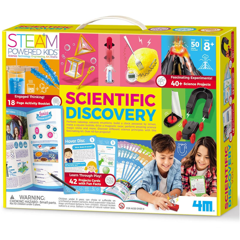 4M Scientifc Discovery Combo (40+ Science Projects)