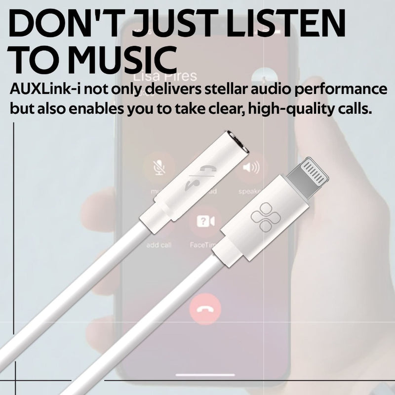 Promate AUX Audio Cable for iPhone/iPad
