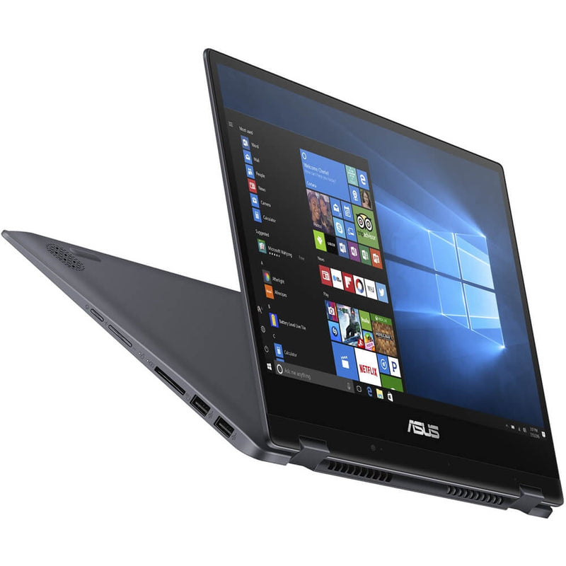 "ASUS VivoBook Flip 14 Laptop – Core i5-8265U 8GB RAM 256GB SSD Shared Win10 14"" FHD - Blue"