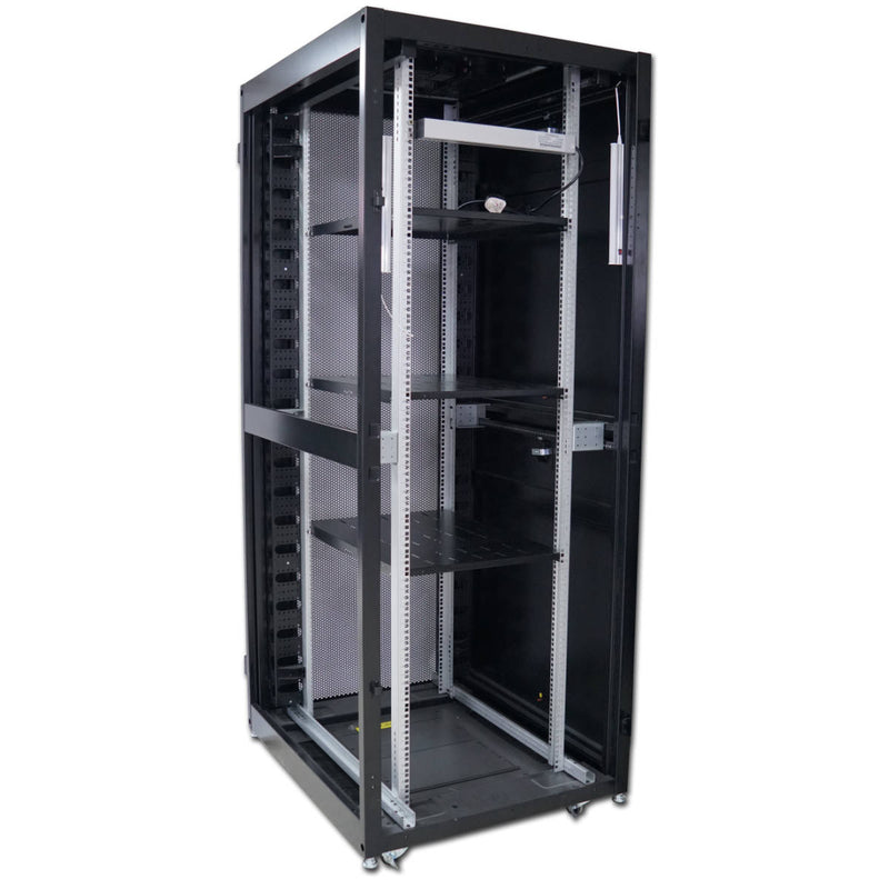 Atlantic 42U 1300kg Server Rack Cabinet - 80cm Extra Wide - 100cm Deep Enclosure