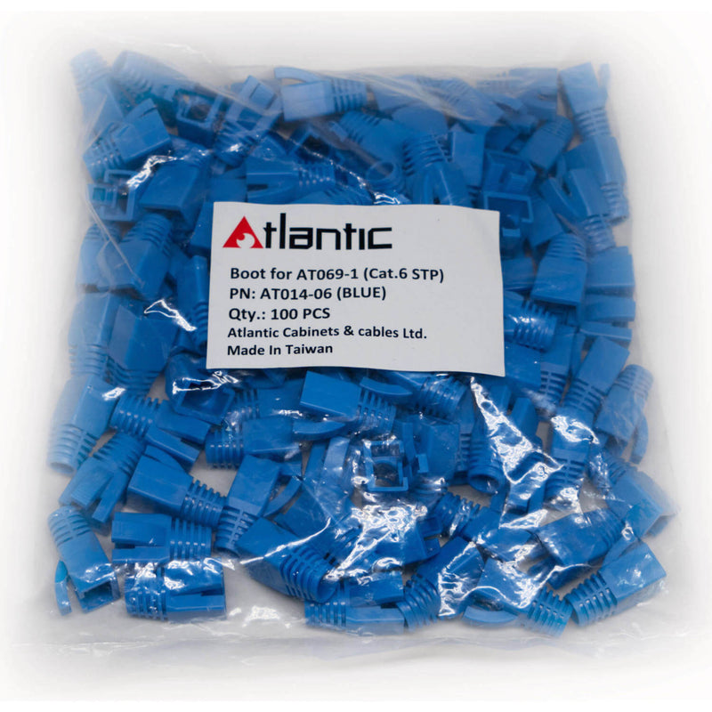 Atlantic STP RJ45 Cable Connector Boot Cat6 (100-Pieces)