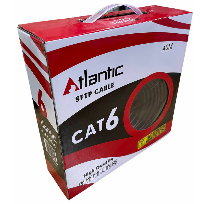 Atlantic CAT6 STP Ethernet Network Patch Cable - CCAG