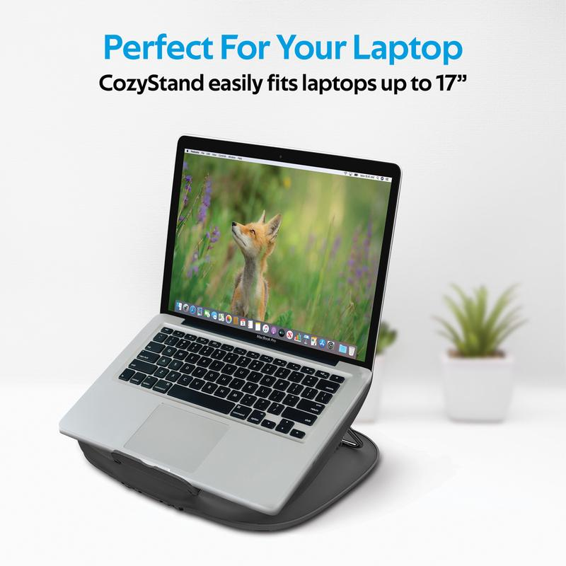 Promate Ventilated Adjustable Laptop DeskStand CozyStand